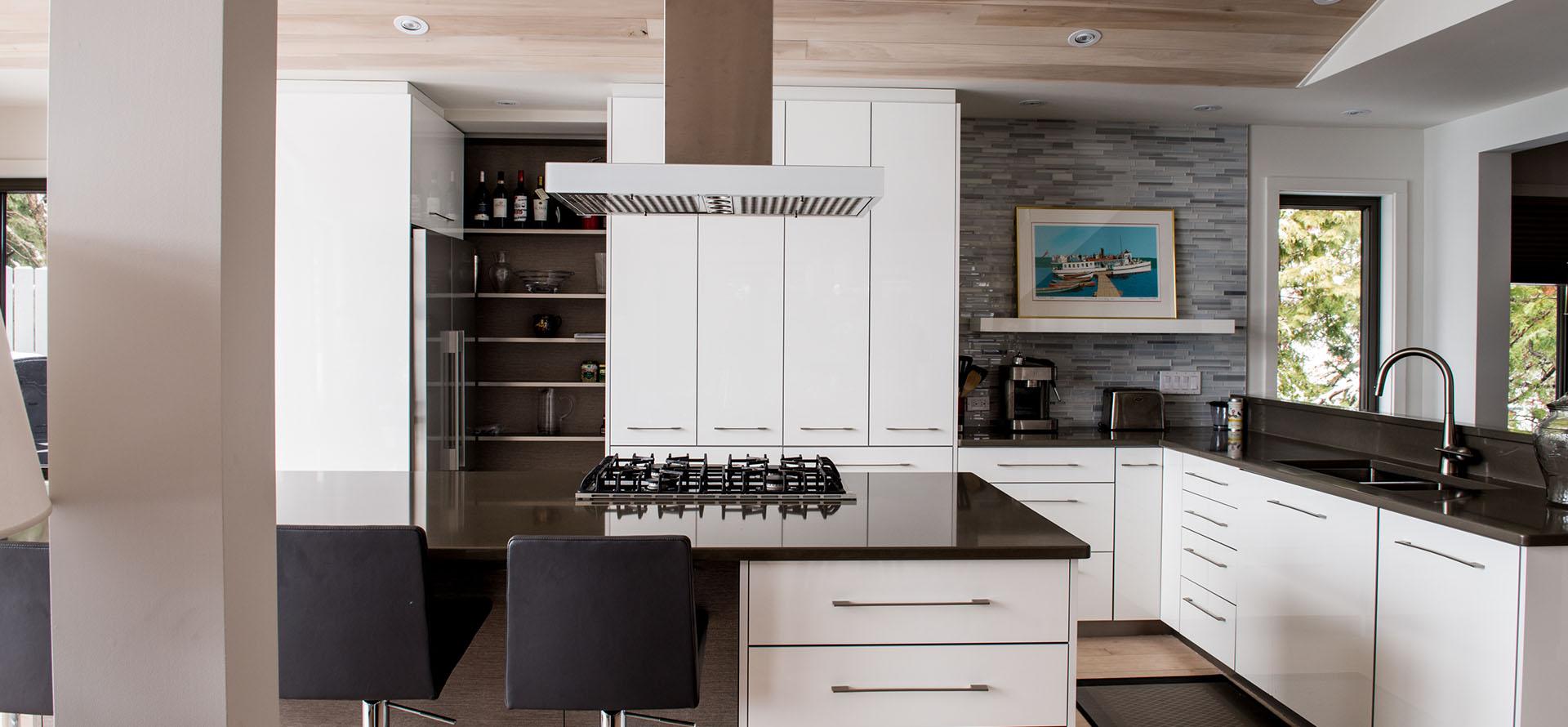 Cuisine Design Hotte : Cuisine Moderne Sherbrooke (Roubaix 21)  Design