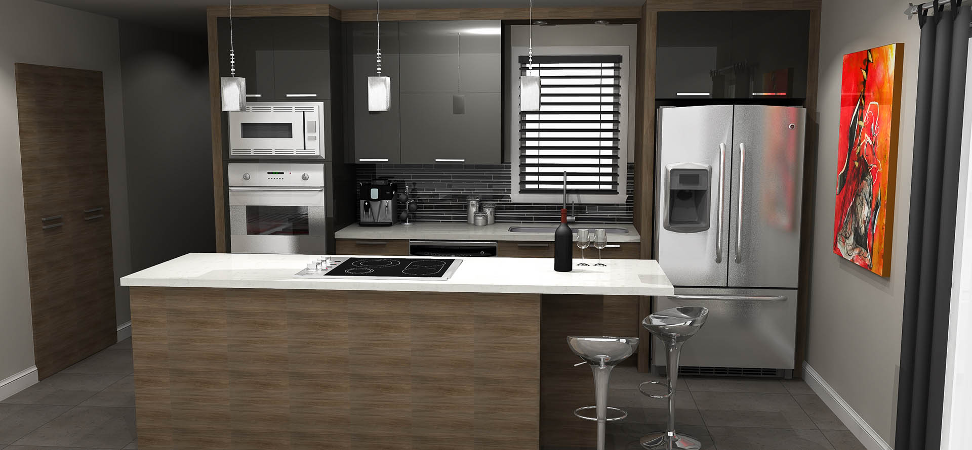 Plan de cuisine en 3d for Ikea conception cuisine 3d