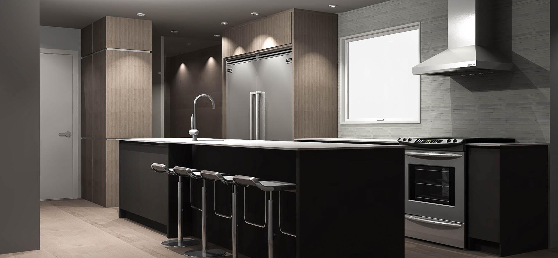 Cuisine Moderne Design portfolio - cuisine moderne